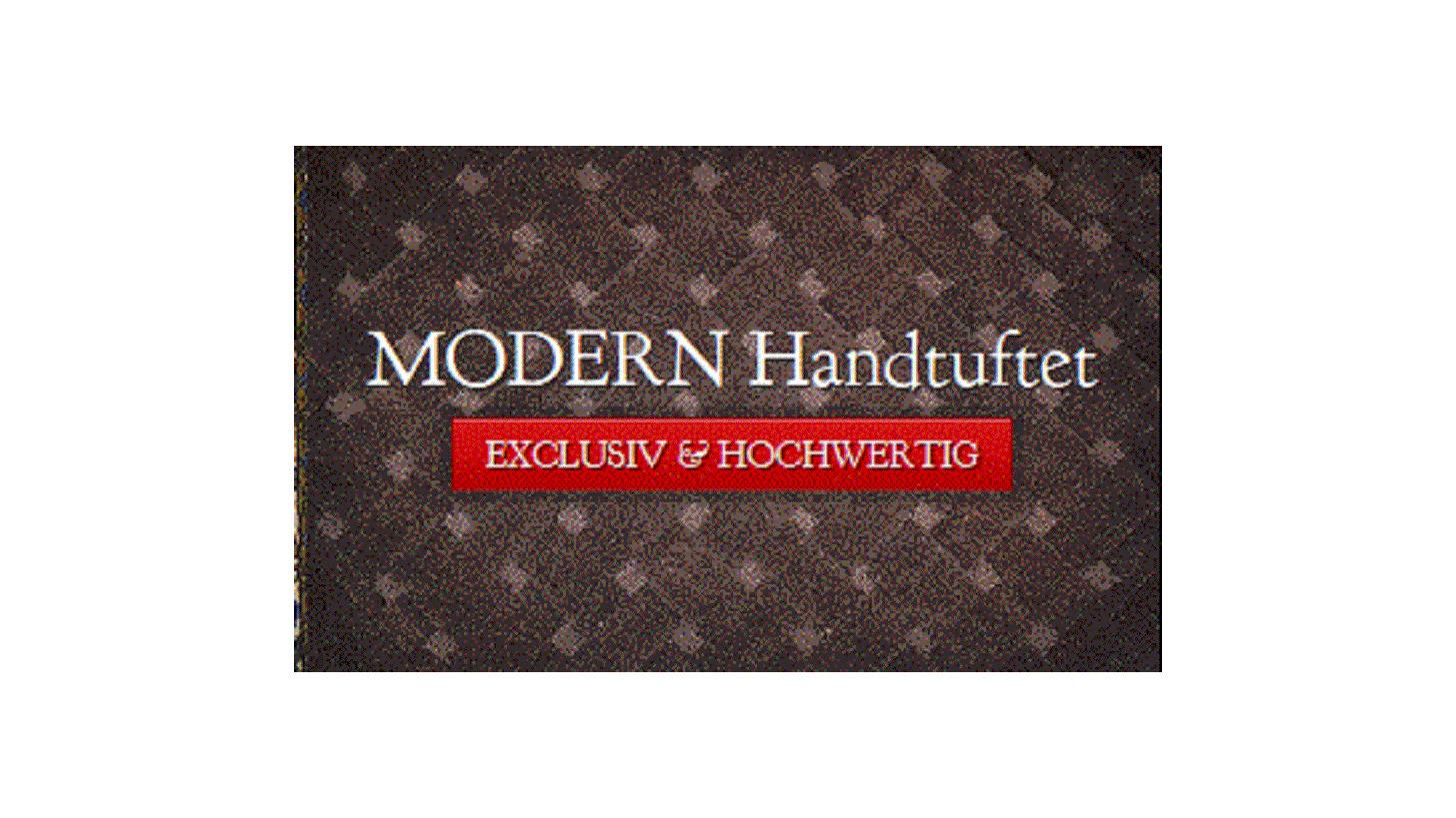 Logo moderne handgefertigte Teppiche