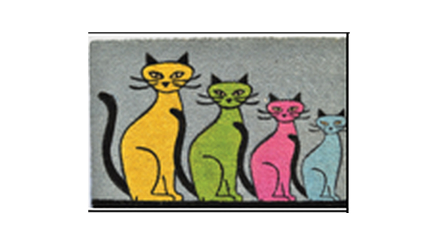 Logo PVC Tufted Coir Mats