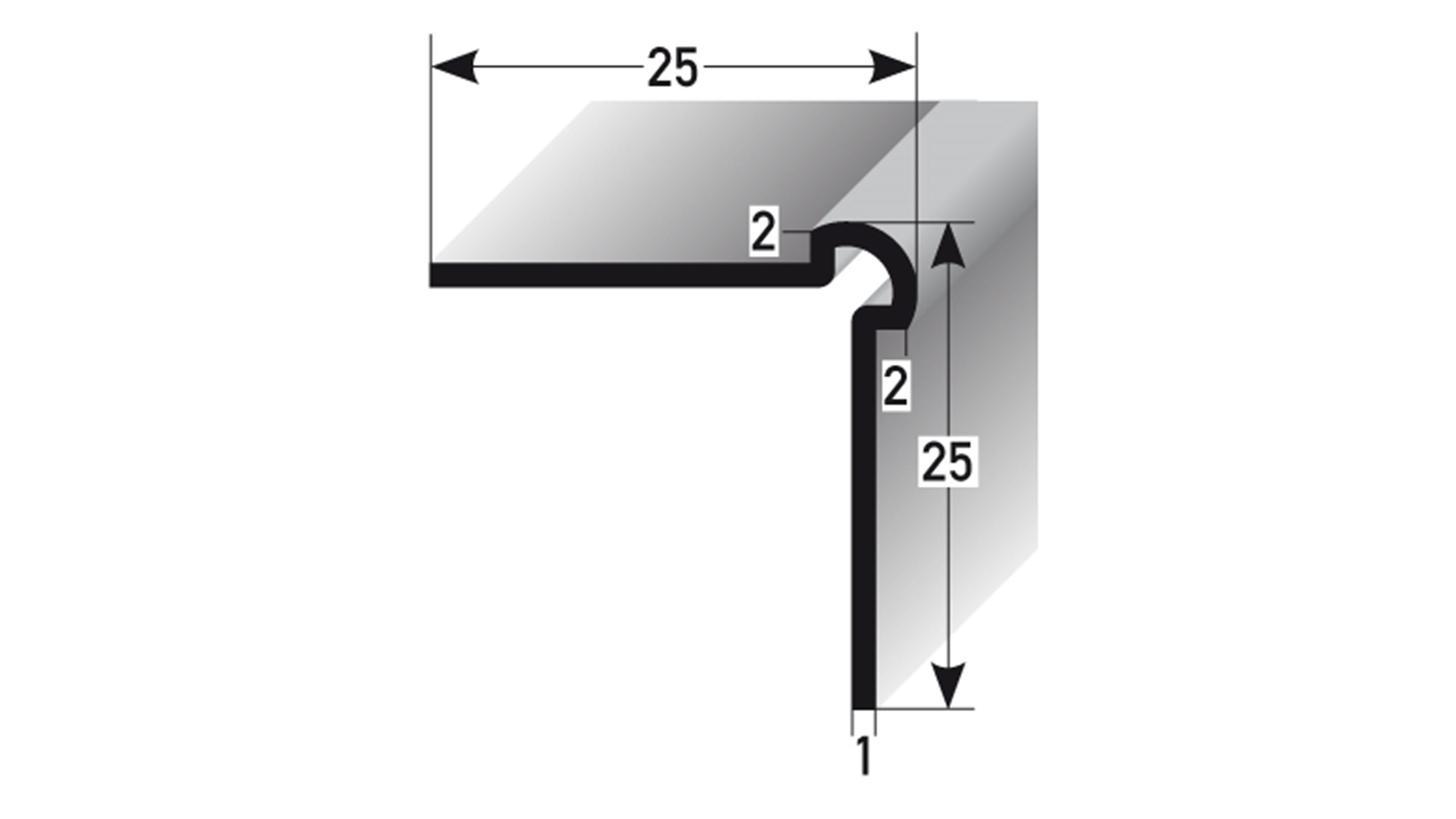 Logo Wandprofile Innen- & Außenecke + Anstoß