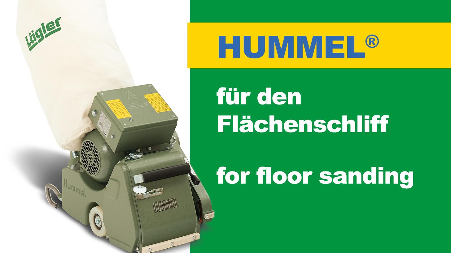 Logo HUMMEL® - Bandschleifmaschine