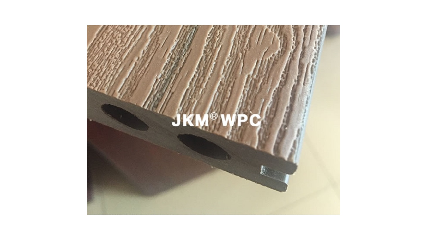 Logo WPC Decking Elastic Co-extruded