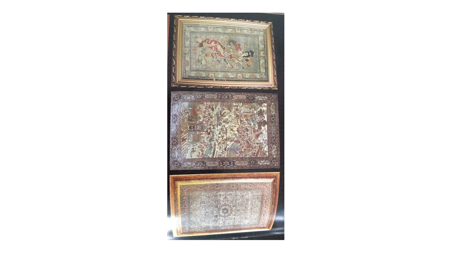 Logo 800L Excellent quality silk rugs 2`x3`