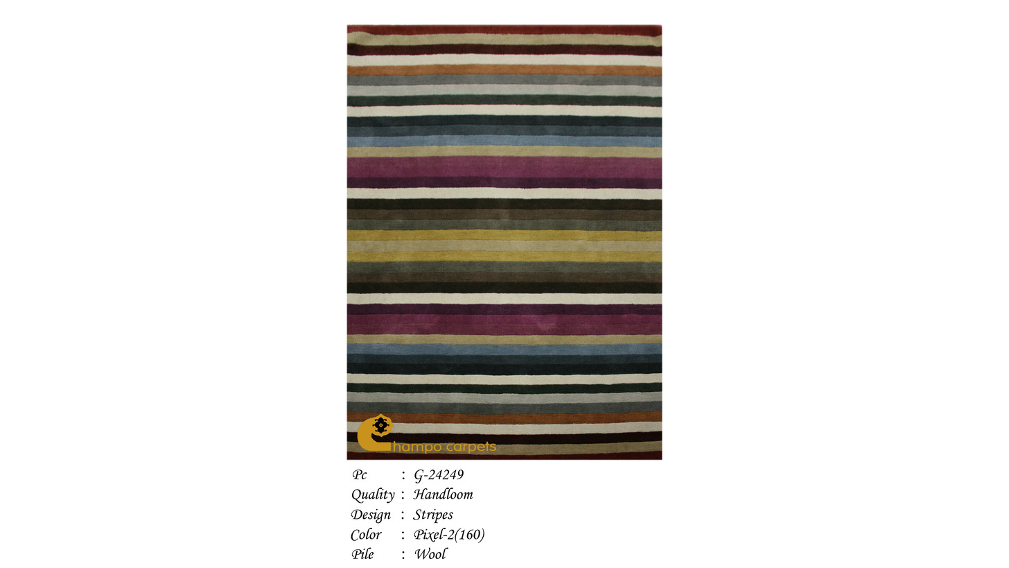 Logo Hand Woven Carpet