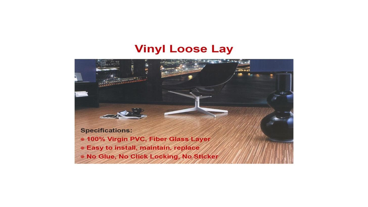 Logo LOOSE LAY VINYL FLOORING