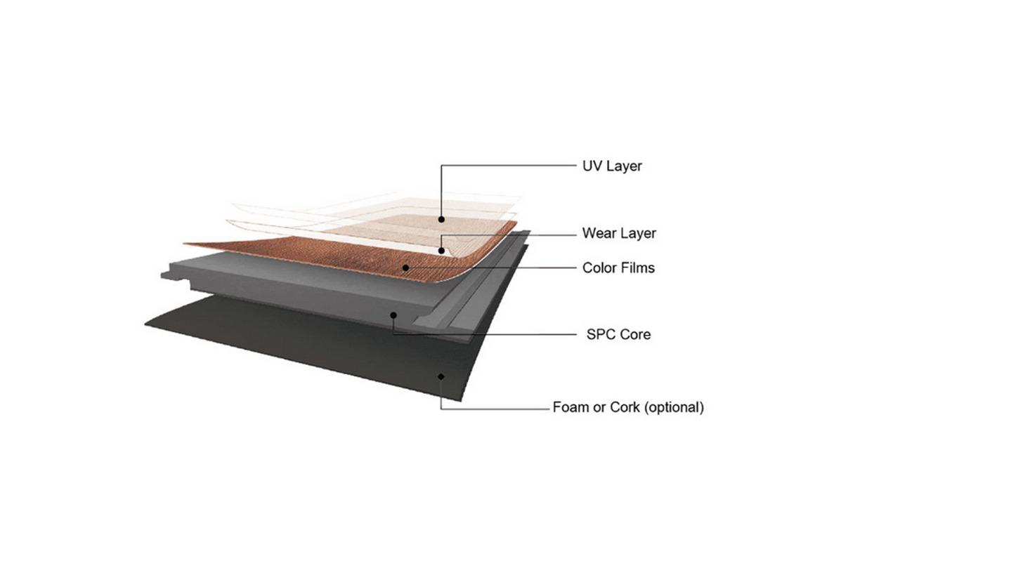 Logo Rigid-core vinyl flooring