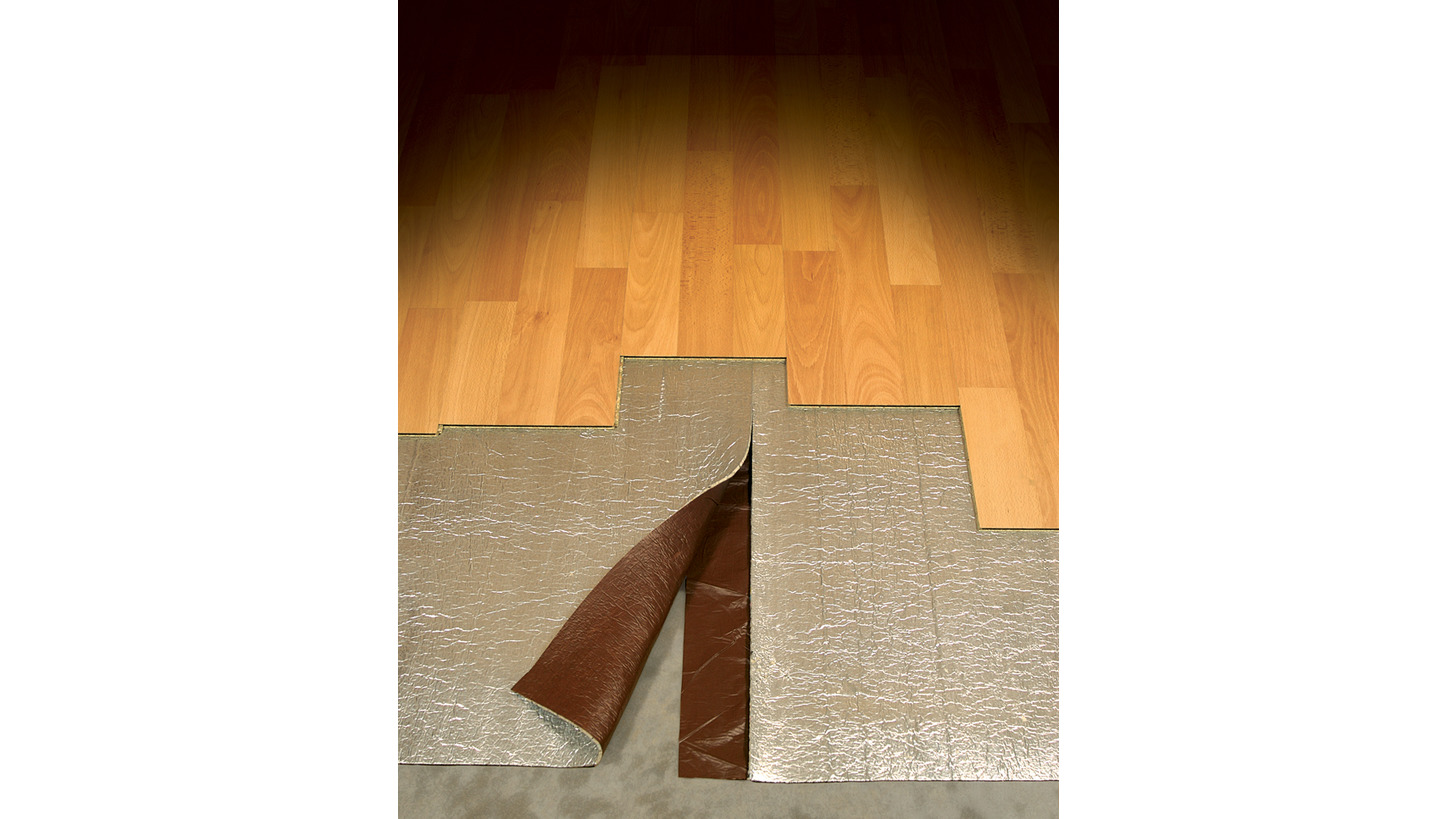 Logo Underlays for Wood Laminate flooring