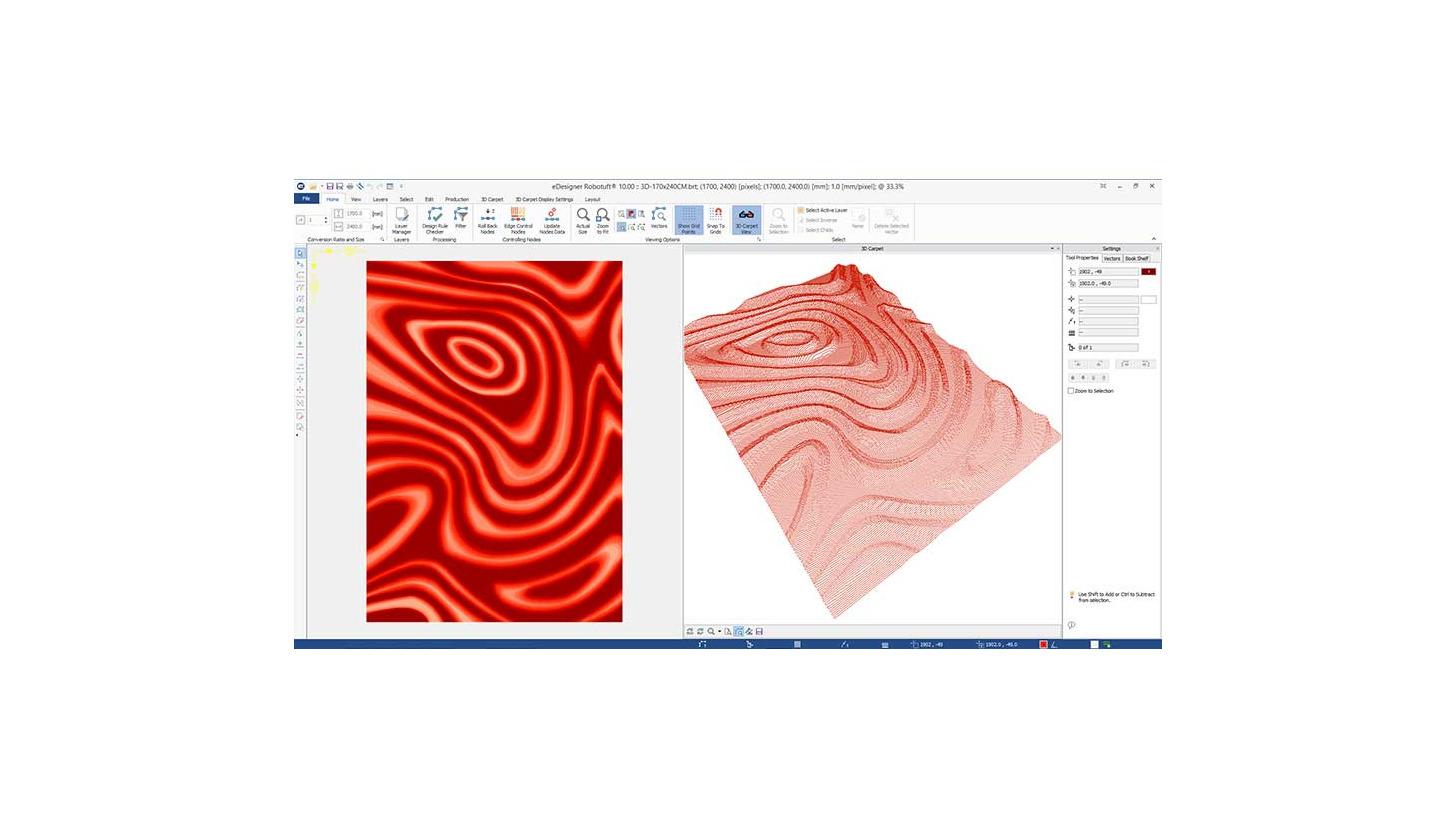 Logo eDesigner : Teppich Design CAD Software