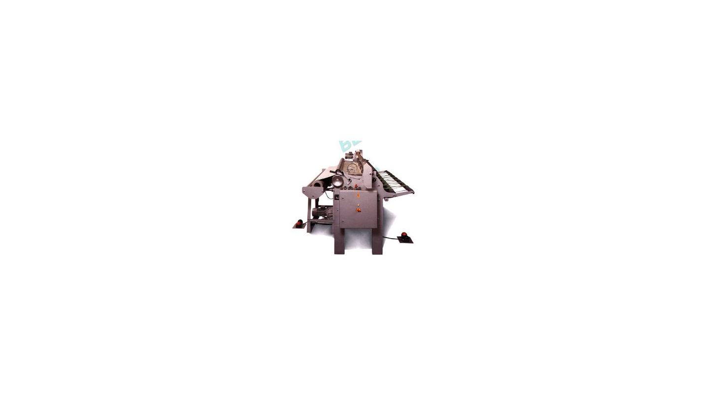 Logo HB 200 EVA Mess- und Schneidemaschine für CV und Linoleum