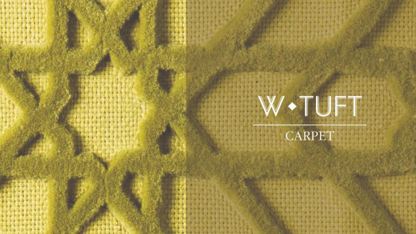 Logo W-TUFT CARPET