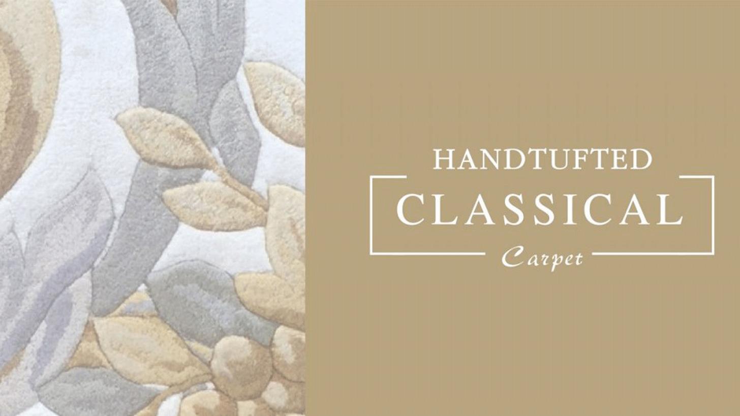 Logo HANDTUFTED CLASSICAL CARPET