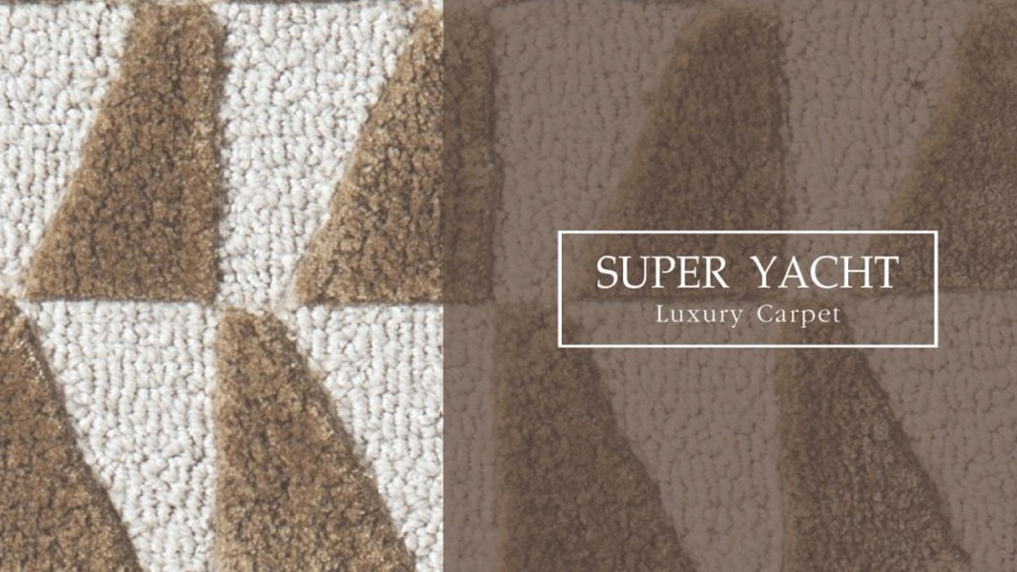 Logo SUPER YACHT LUXURY CARPET