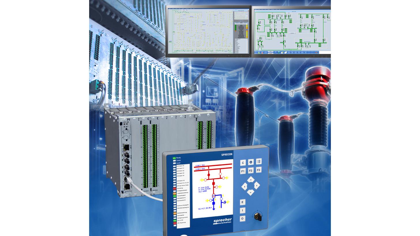 Logo SPRECON Projektierung & Engineering