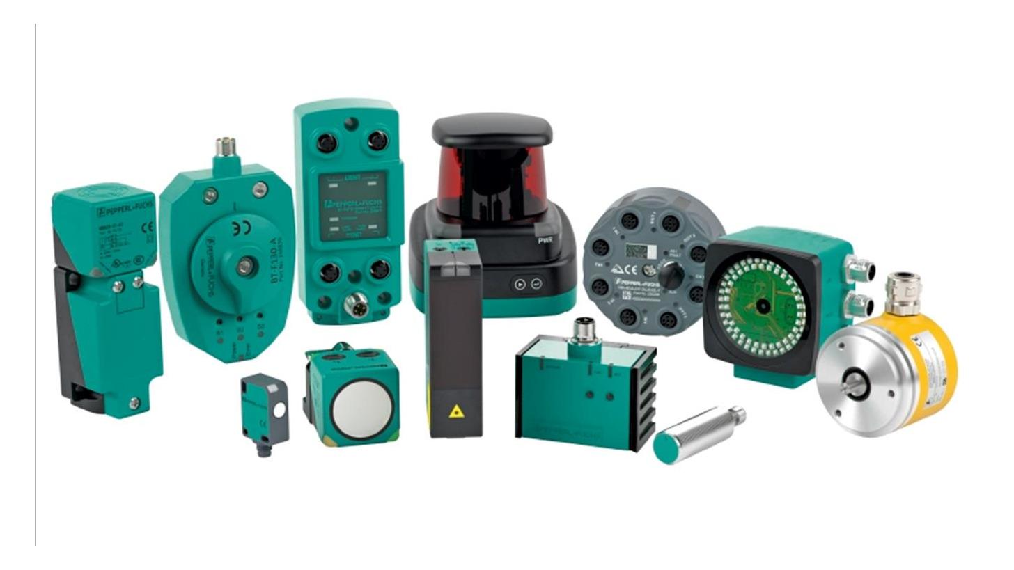 Logo Sensoren für die Fabrikautomation