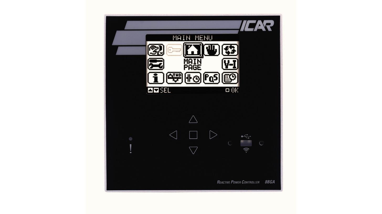 Logo ICAR Blindleistungsregler