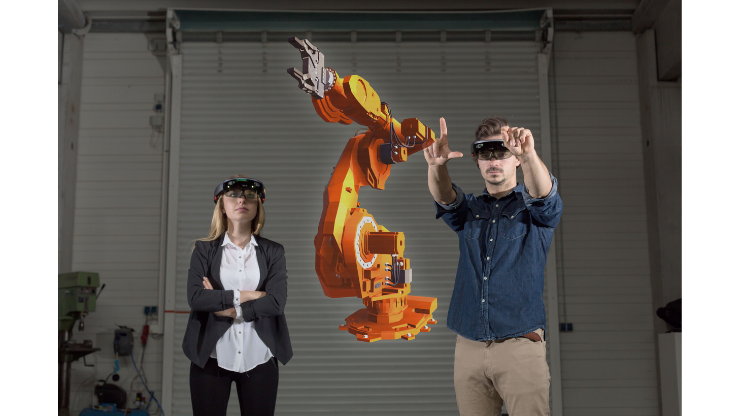 Logo Mixed Reality Solutions for Industry 4.0