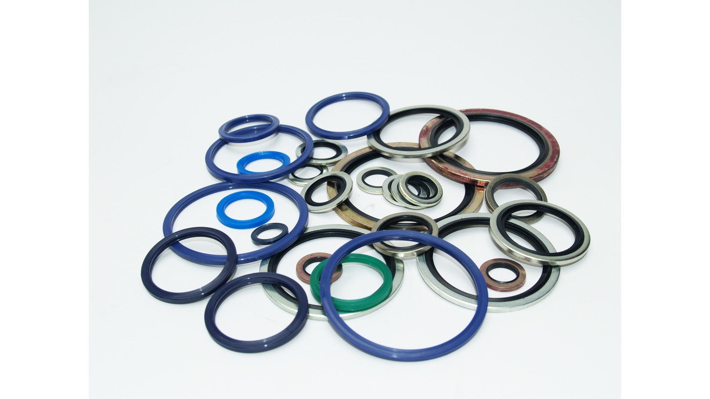 Logo Bonded Washers and Flange Seals