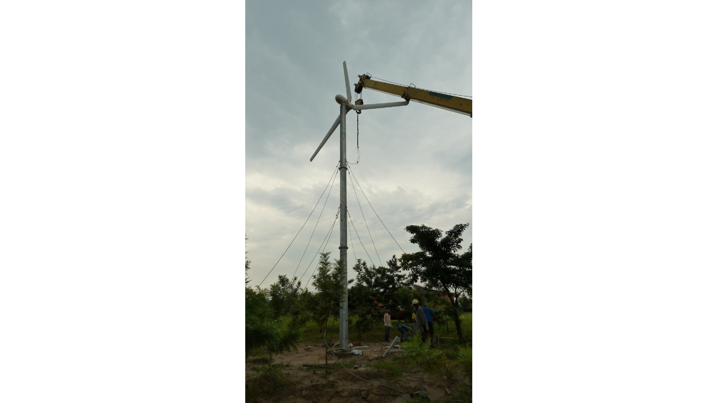 Logo Safe, reliable and silent wind energy