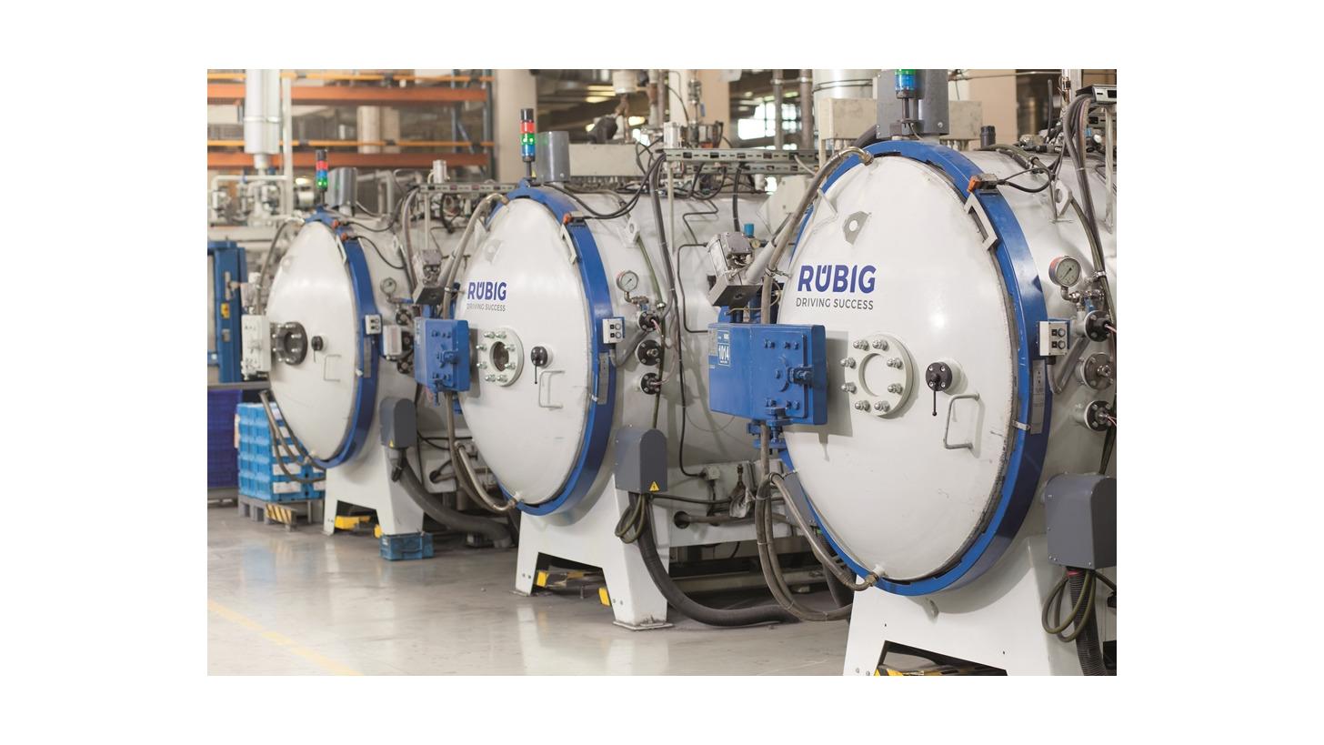 Logo Vacuum Hardening - R.VAC+®
