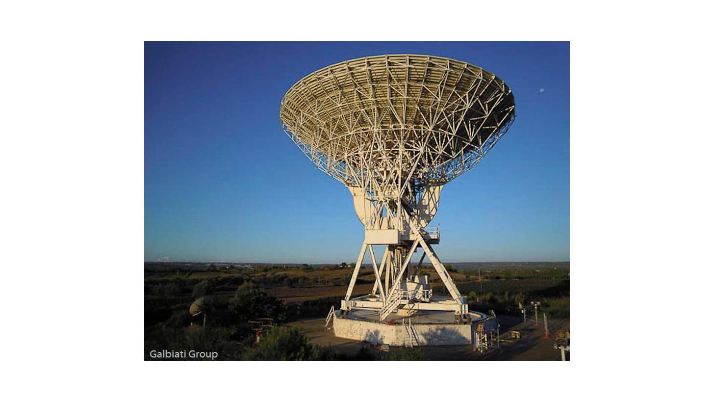 Logo Antennas and Radio-telescopes