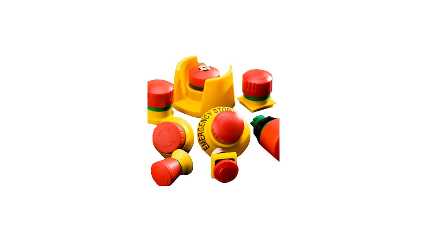 Logo Not-Aus-Tasten