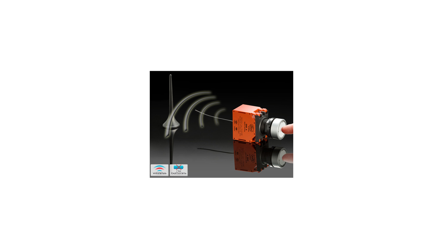Logo Battery-free Wireless Pushbutton