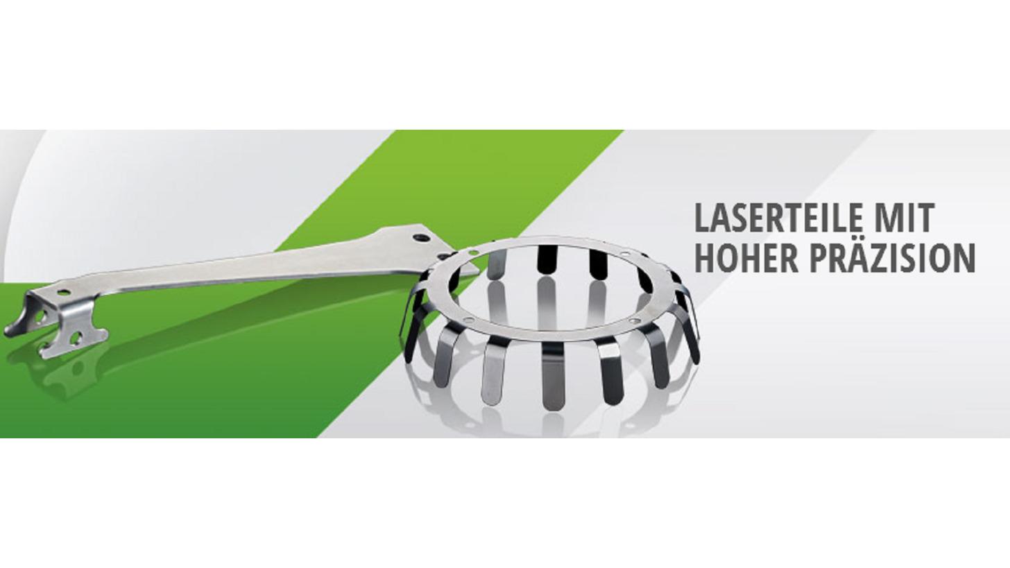 Logo Laserteile mit hoher Präzision