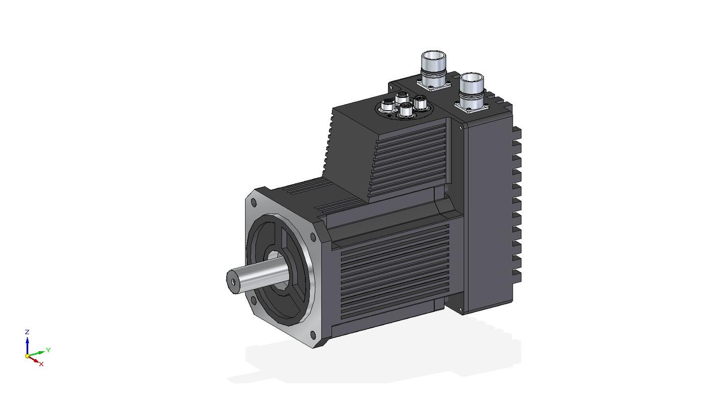 Logo MAC3000 - Integrierter Servomotor