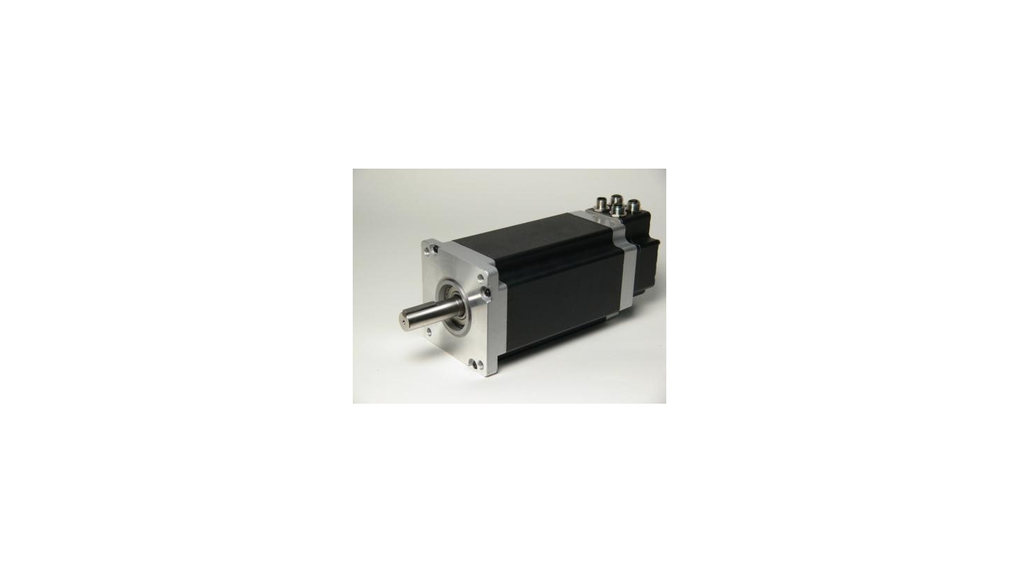 Logo The World's Most Compact 25 Nm Integrated Stepper Motor in NEMA43 size