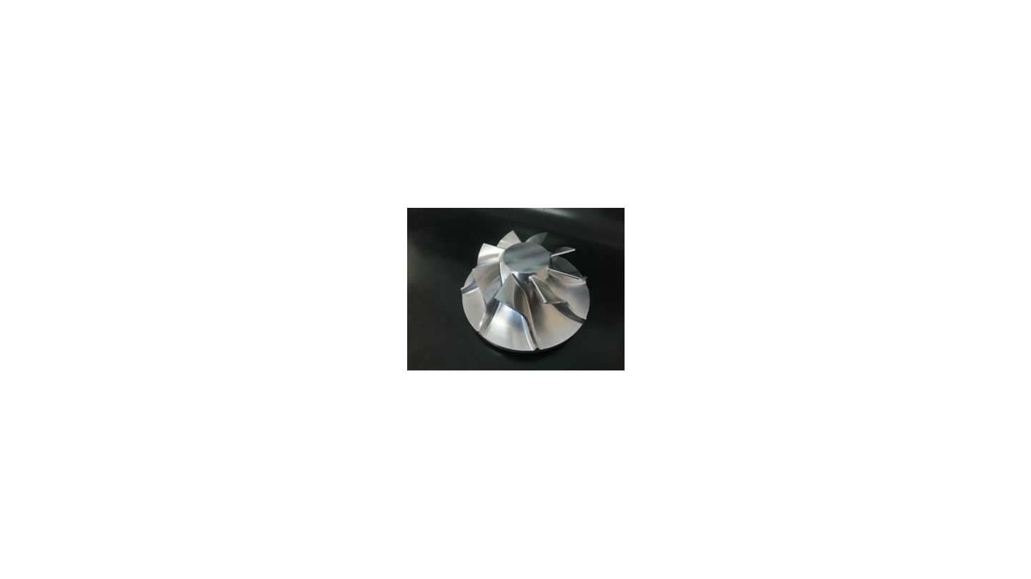Logo Aluminum parts with  5-axis machine