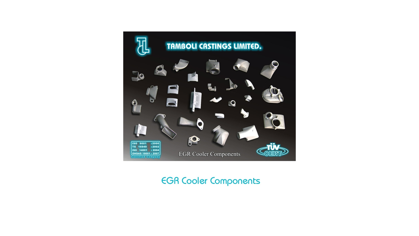 Logo EGR Cooler Components