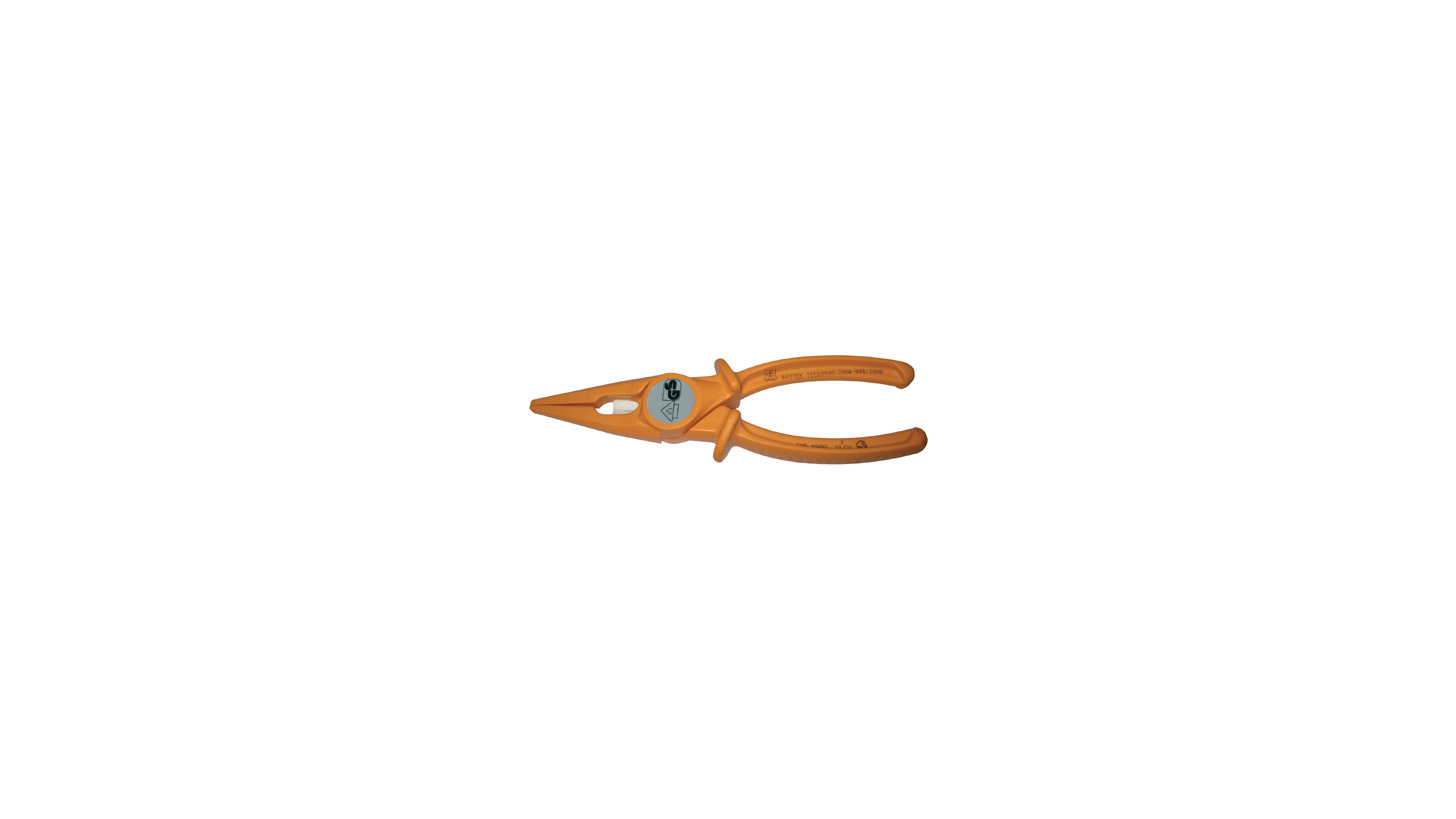 Logo insulated pliers with ceramic cutter