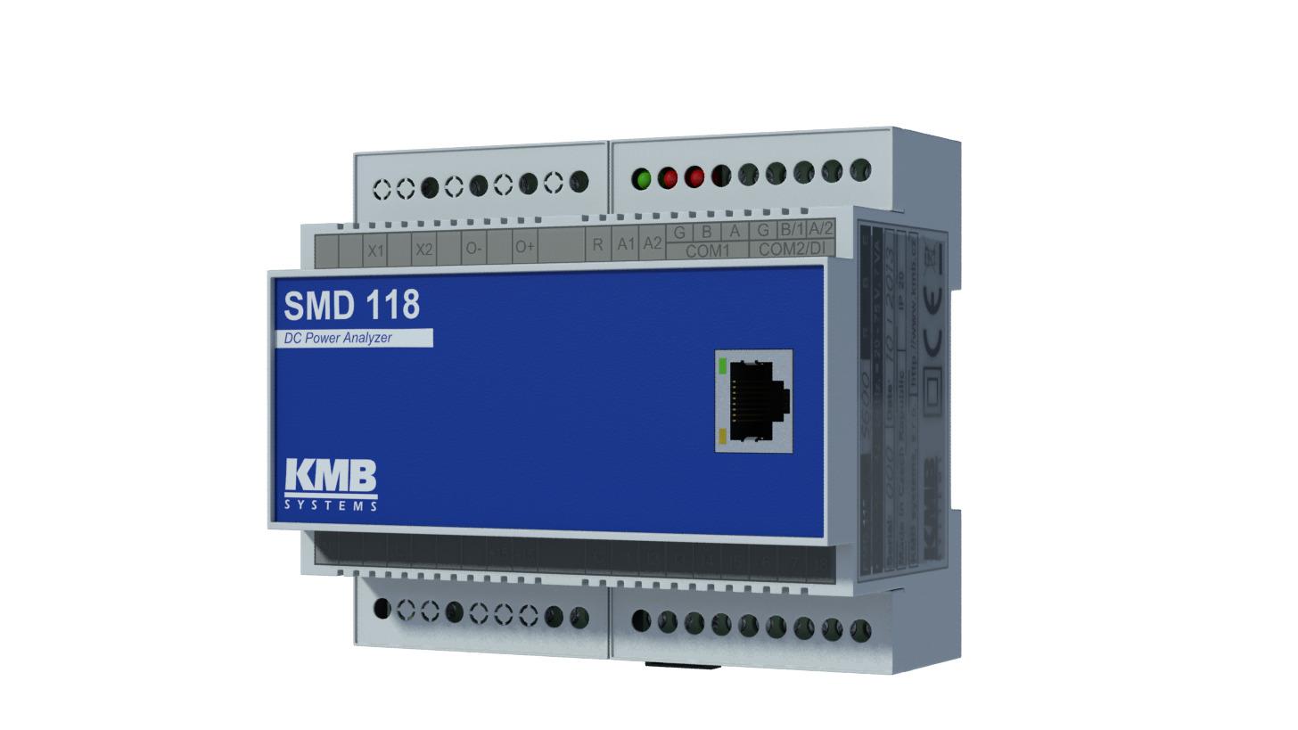 Logo SMC 118 AC/DC Analyser