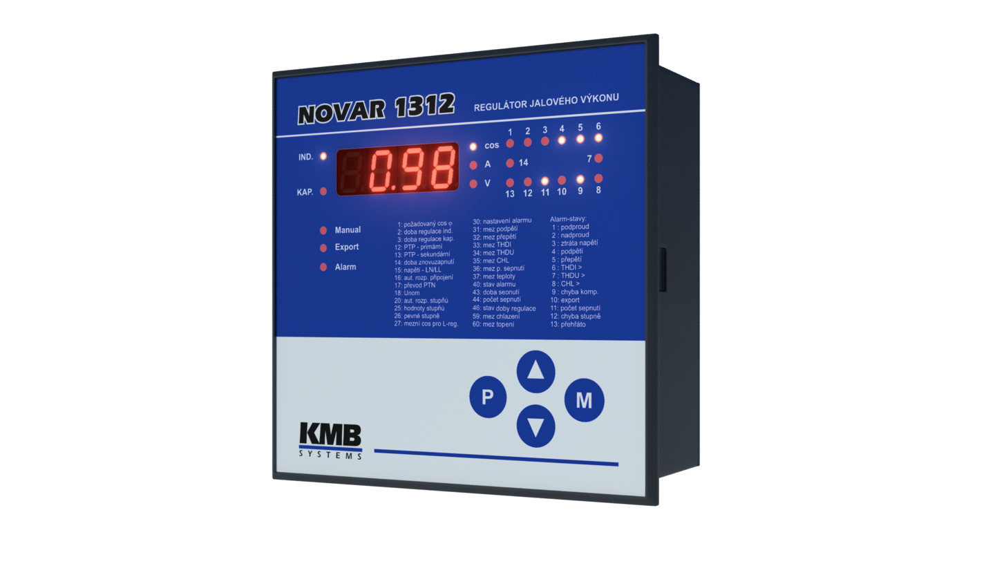 Logo Fast NOVAR 1312 power factor controller