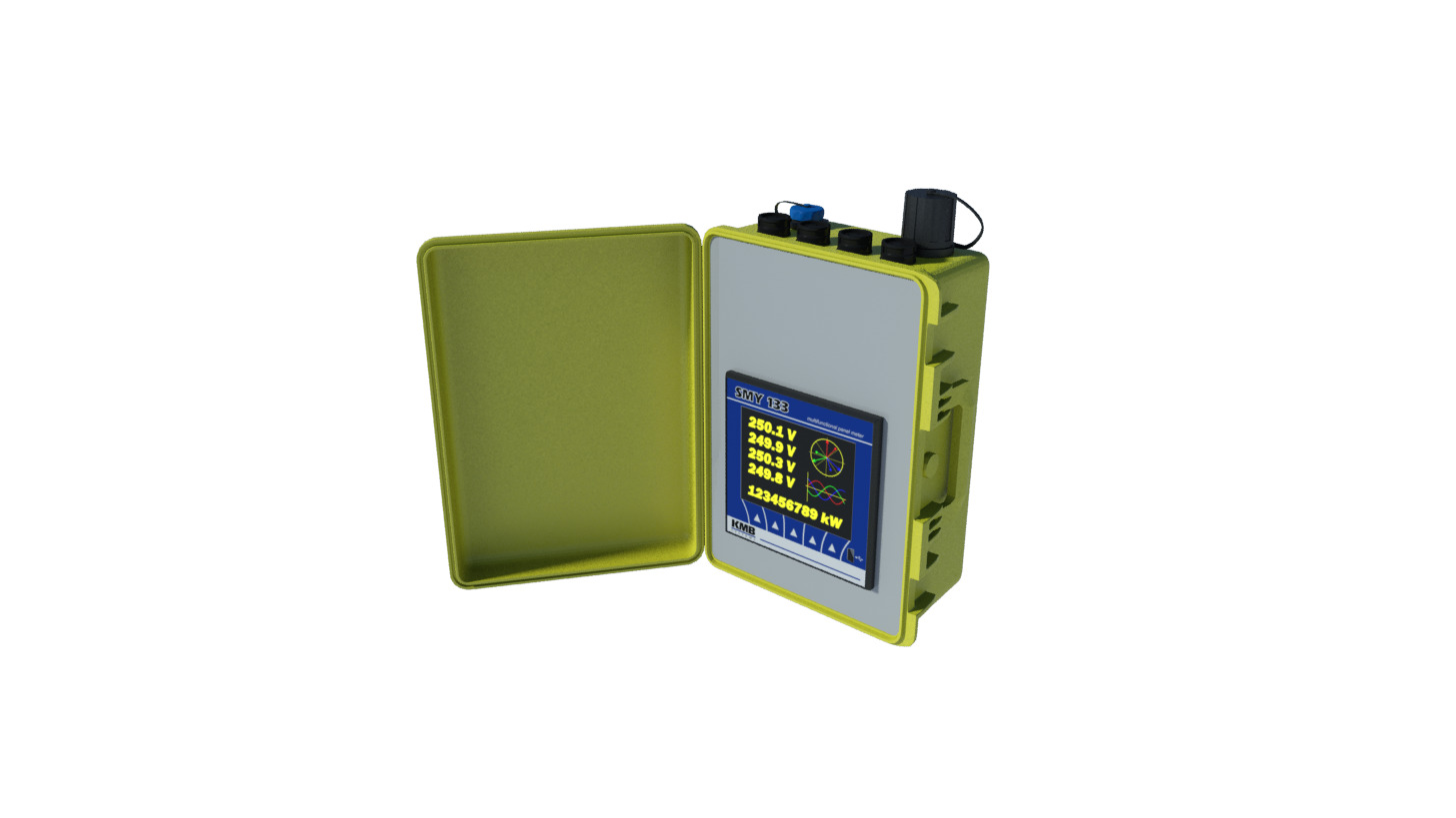Logo Portable power quality analyser SMY-CA