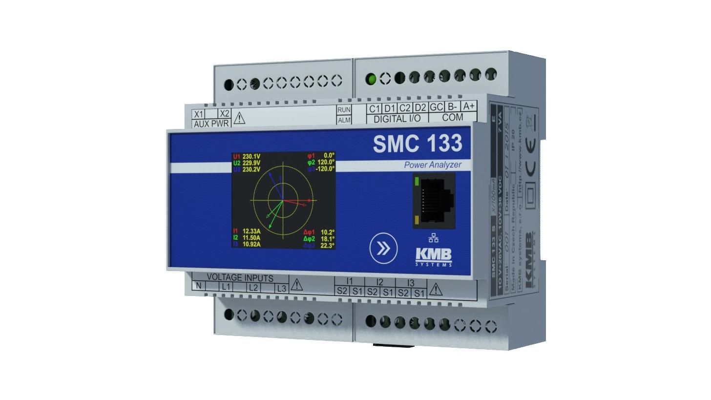 Logo SMC 133 analyser for Smart Grid