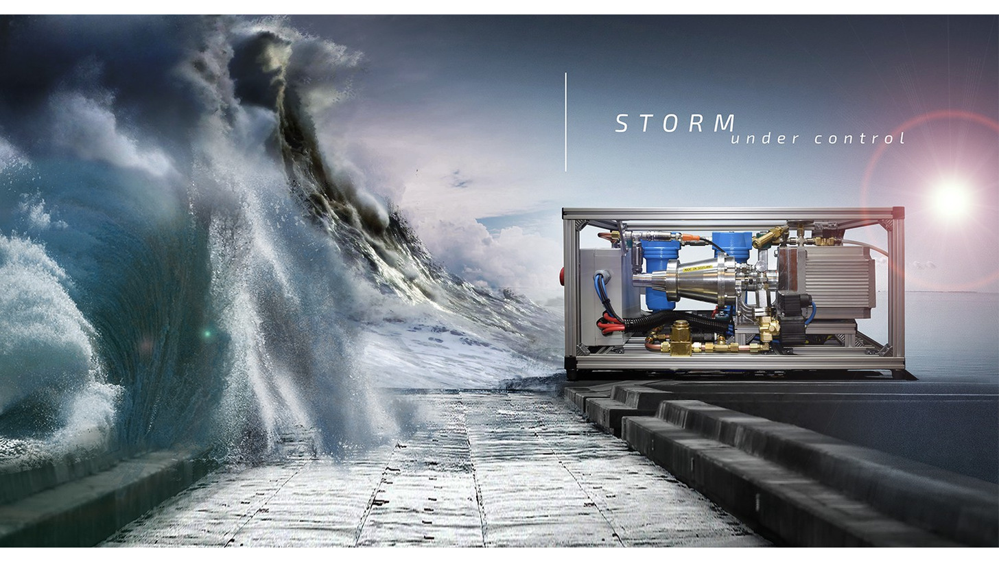 Logo Storm: mobile air, safe and easy