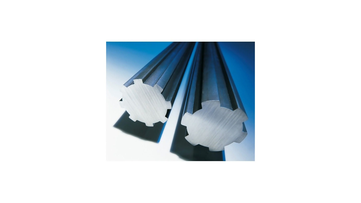 Logo Splined shafts in steel
