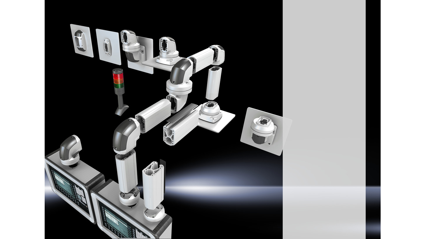Logo Support arm system CP-C