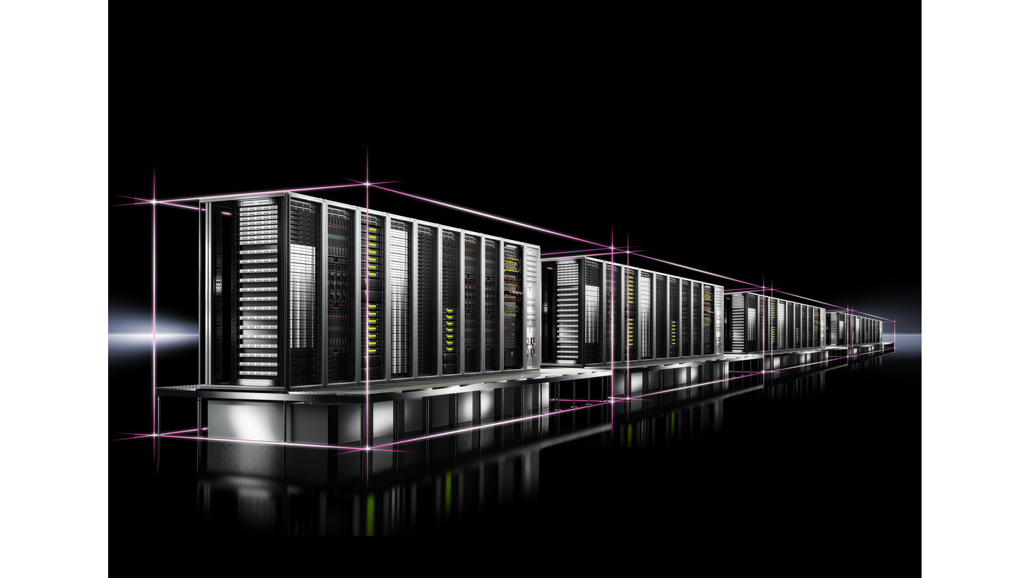 Logo RiMatrix S - The revolutionary alternative to individual Data Centers.