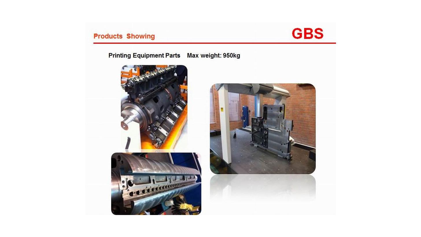 Logo Parts for printing machining