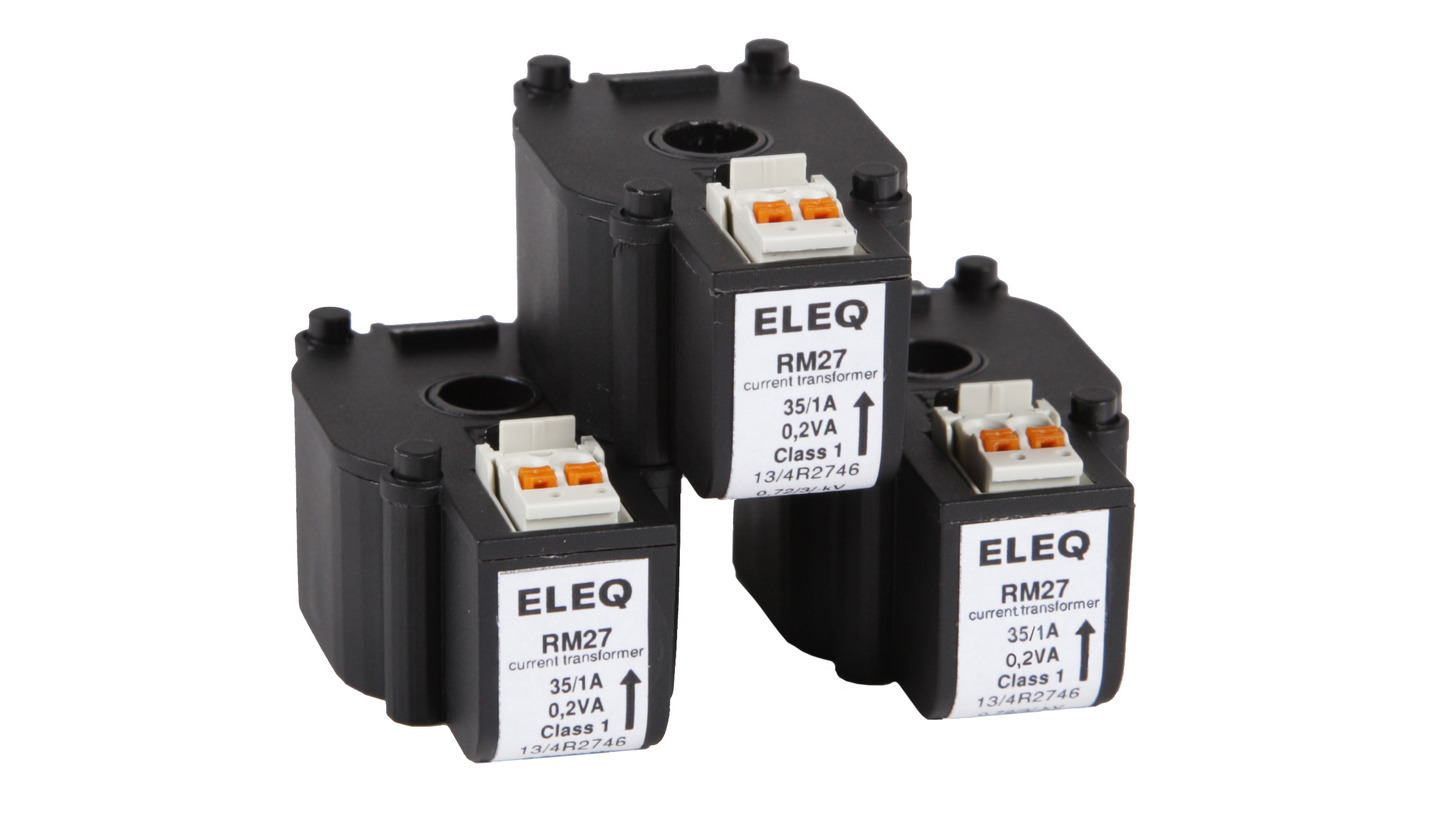 Logo ELEQ Compact Current Transformer, RM27