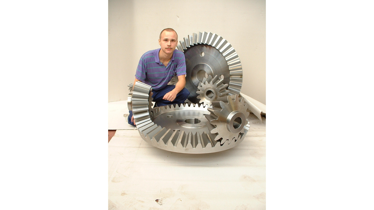 Logo Straight Bevel Gears
