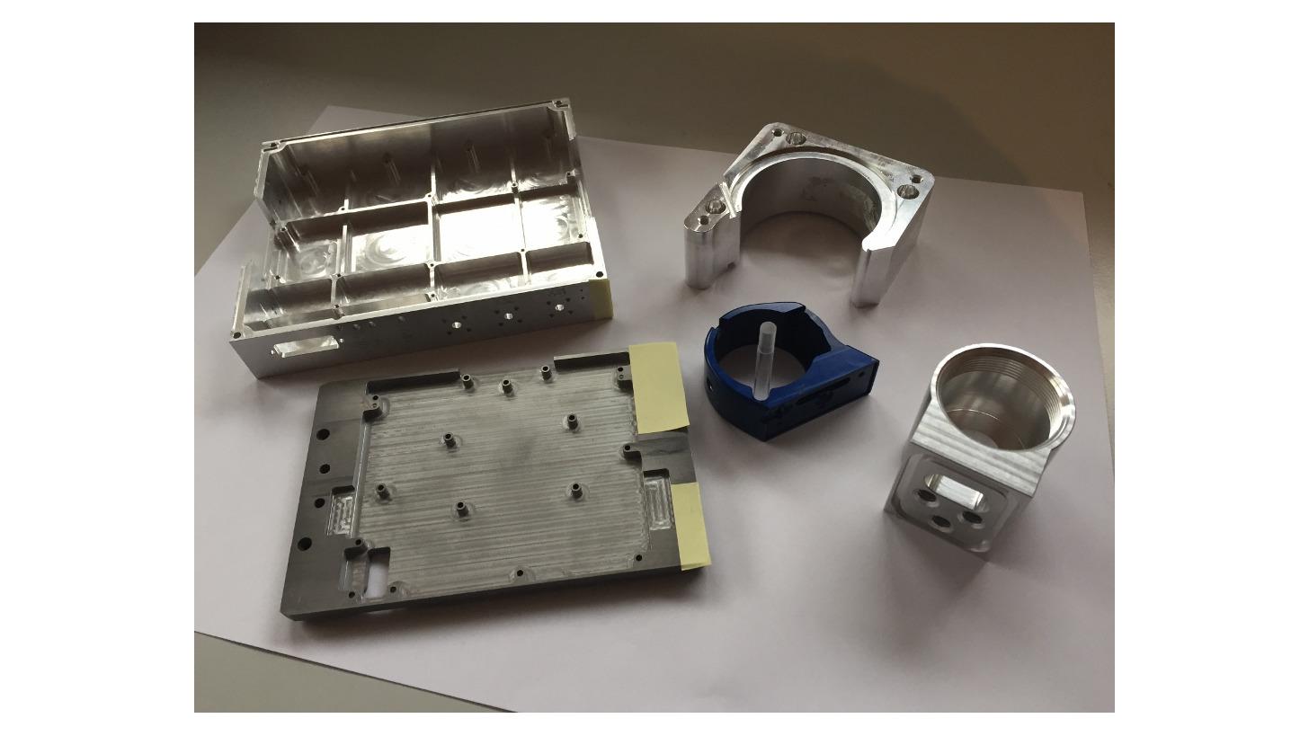 Logo CNC Milled parts