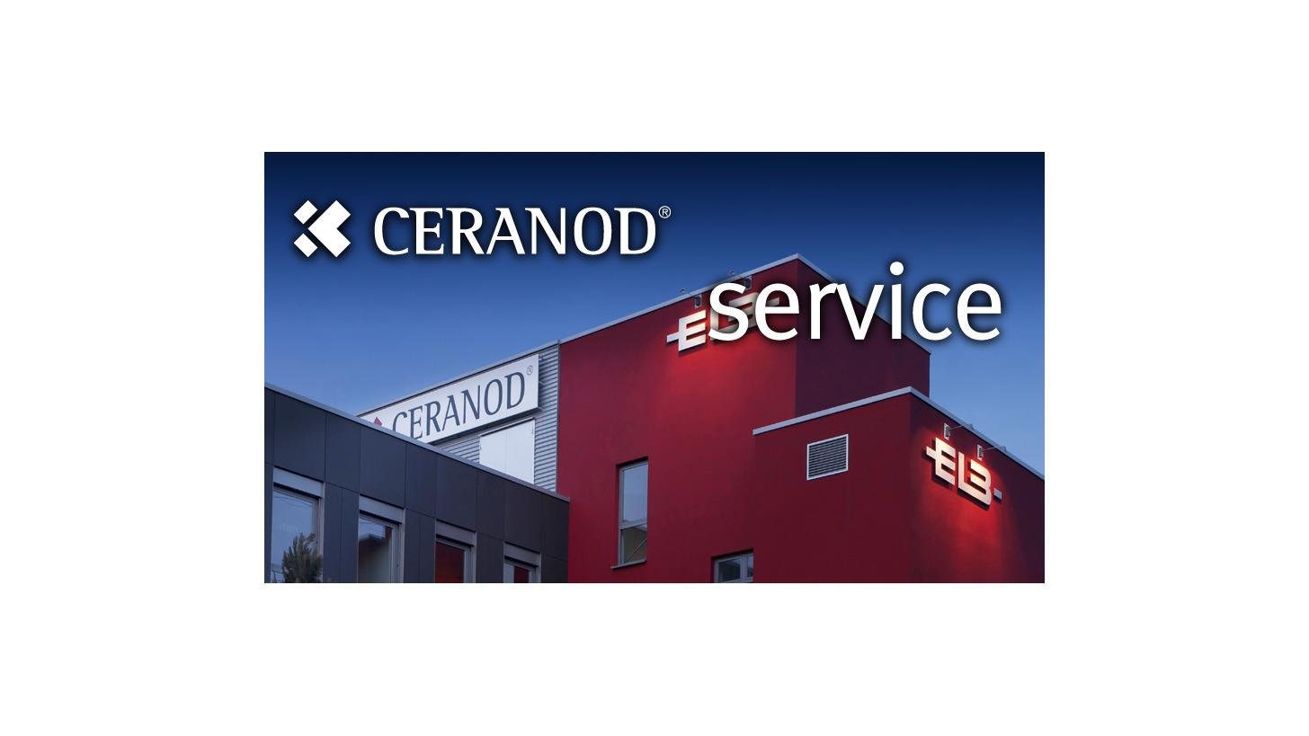 Logo CERANOD® service