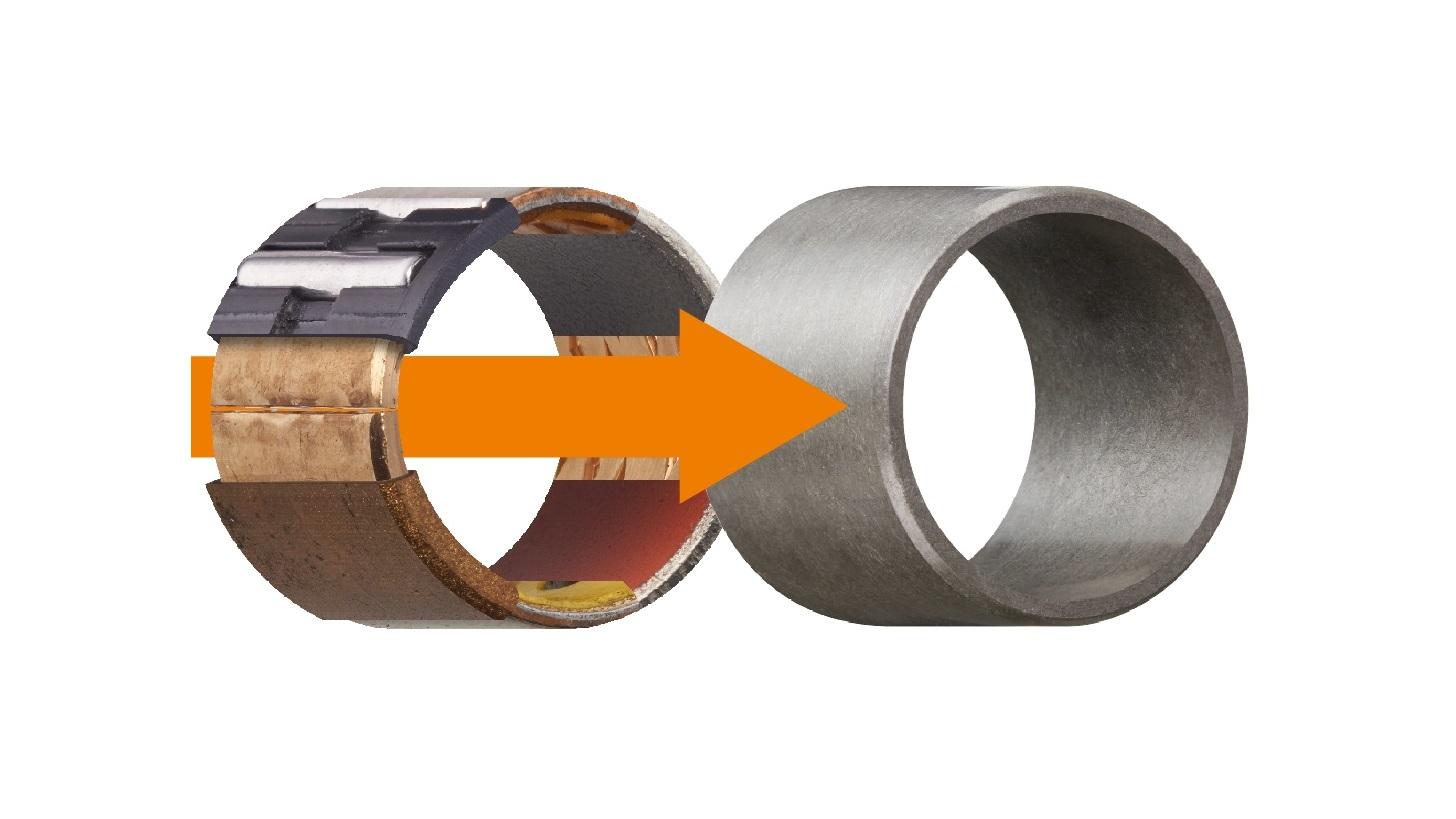 Logo igus® iglidur® Polymer-Gleitlager