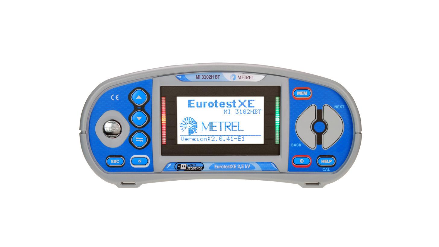 Logo MI 3102H BT Eurotest XE 2.5 kV
