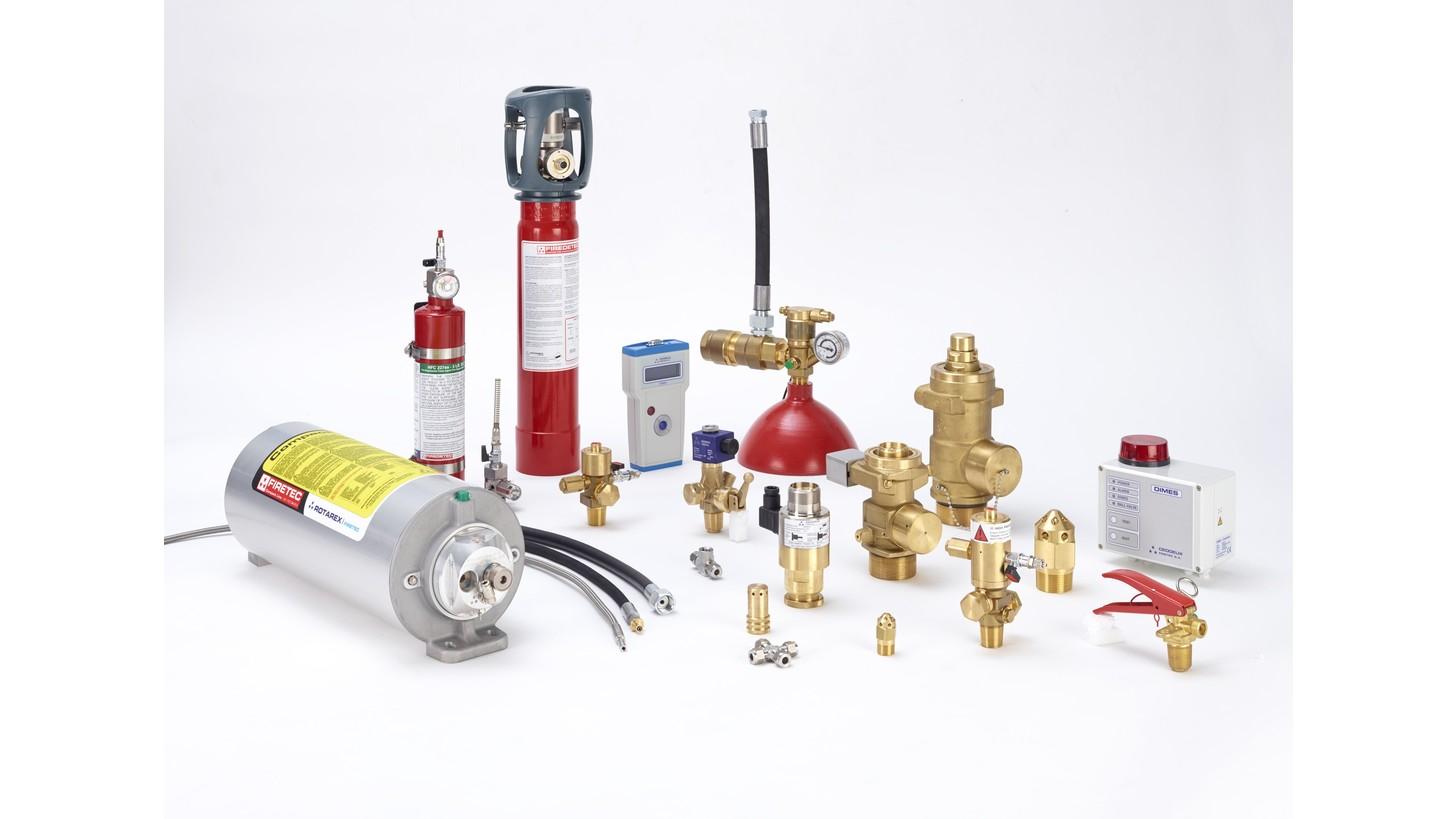 Logo Fire suppression systems