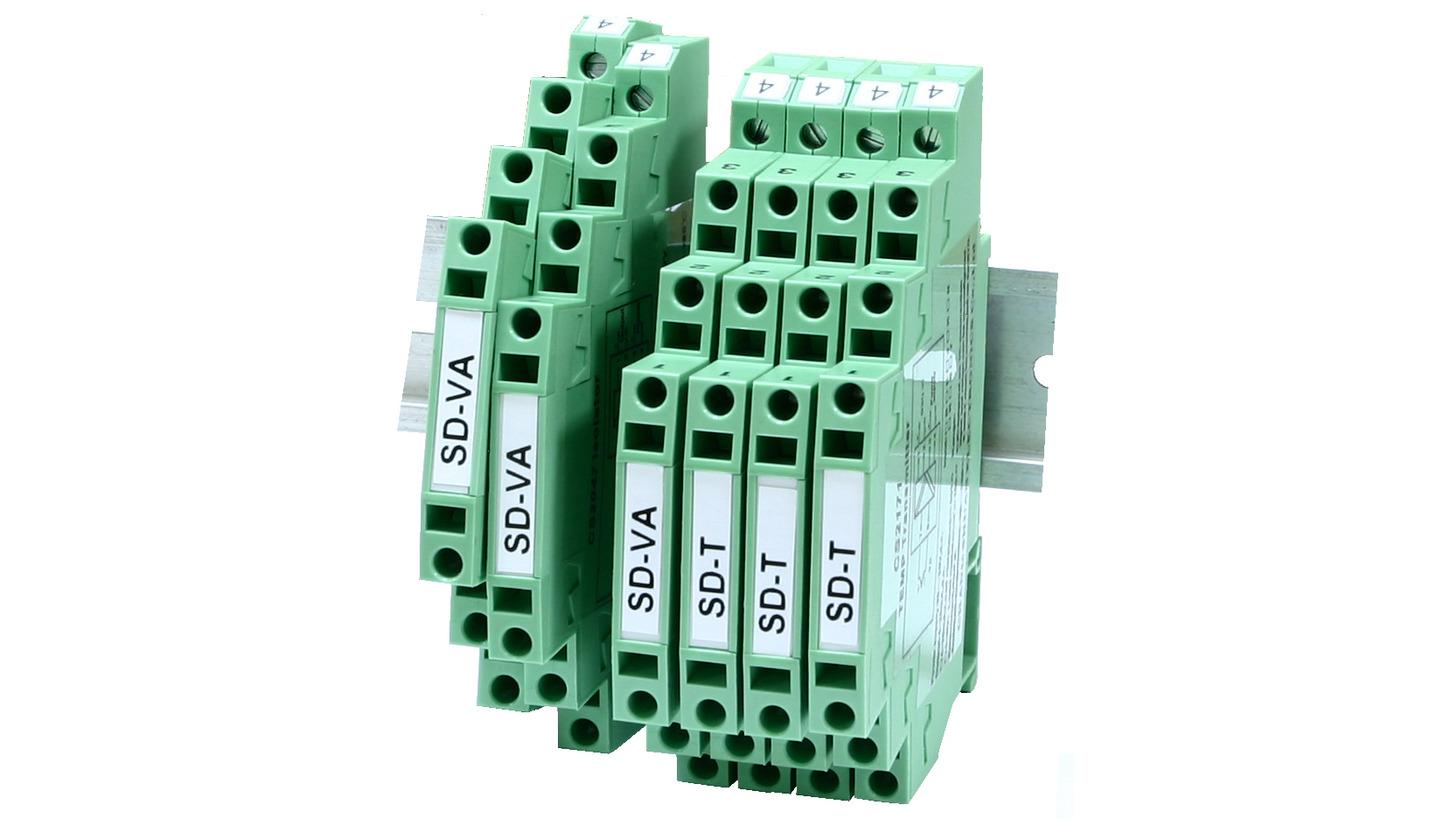 Logo SD series Slim type isolator