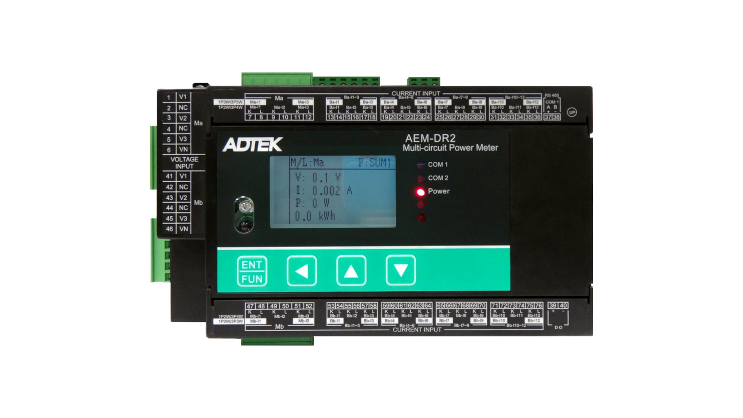 Cm3 Va7 3 Phase Voltage Current Meter Product Hannover Messe 2018 Power In An Electric Circuit Is The Multiplication Of Aem Dra Multi