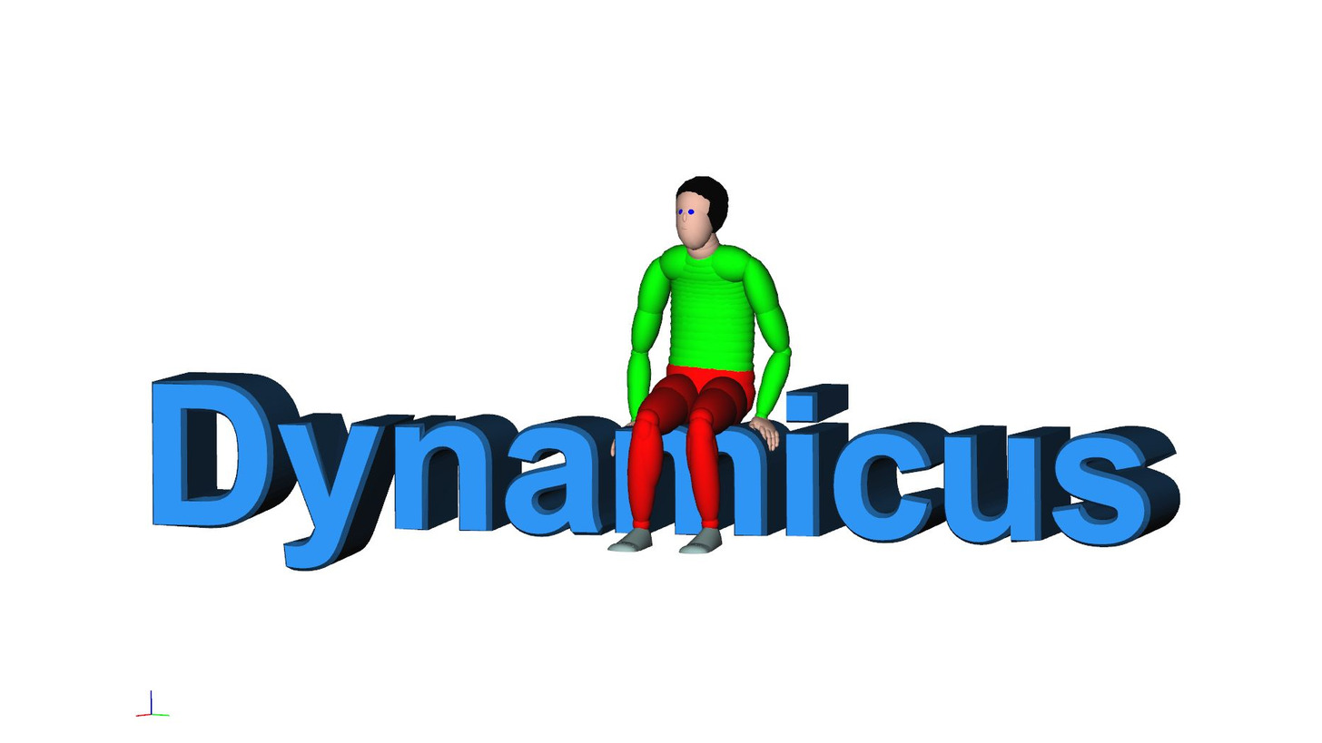 Logo Biomechanical Human Model Dynamicus